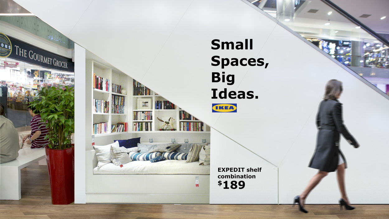 IKEA - Small Spaces, Big Ideas - Larries Ng