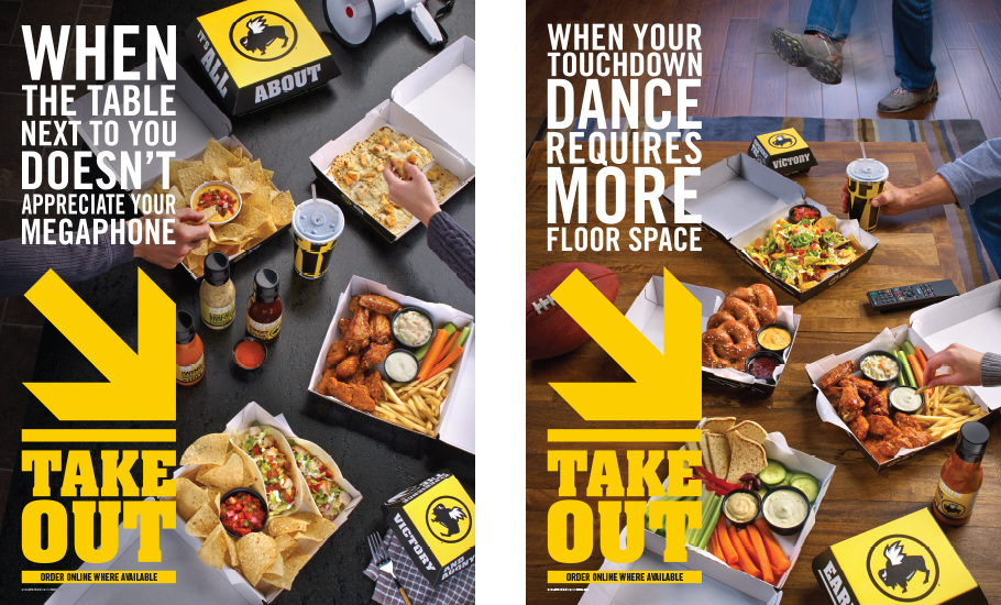 Buffalo Wild Wings Takeout Posters - Diana Dodge Portfolio